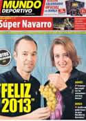 Portada Mundo Deportivo del 31 de Diciembre de 2012