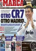 Portada diario Marca del 3 de Enero de 2013