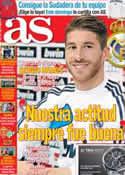 Portada diario AS del 4 de Enero de 2013