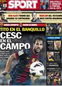 Portada diario Sport del 4 de Enero de 2013