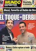Portada Mundo Deportivo del 4 de Enero de 2013