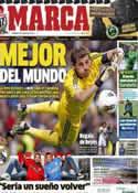 Portada diario Marca del 5 de Enero de 2013