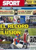 Portada diario Sport del 5 de Enero de 2013