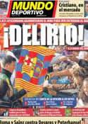 Portada Mundo Deportivo del 5 de Enero de 2013