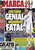 Portada diario Marca del 7 de Enero de 2013