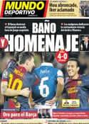 Portada Mundo Deportivo del 7 de Enero de 2013