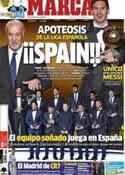 Portada diario Marca del 8 de Enero de 2013