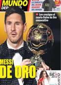 Portada Mundo Deportivo del 8 de Enero de 2013