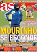 Portada diario AS del 9 de Enero de 2013