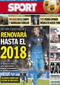 Portada diario Sport del 9 de Enero de 2013