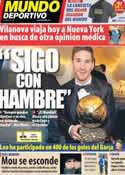 Portada Mundo Deportivo del 9 de Enero de 2013