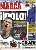 Portada diario Marca del 10 de Enero de 2013