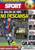Portada diario Sport del 10 de Enero de 2013