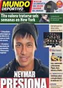 Portada Mundo Deportivo del 10 de Enero de 2013