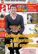 Portada diario AS del 11 de Enero de 2013