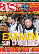 Portada diario AS del 12 de Enero de 2013