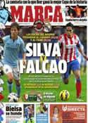 Portada diario Marca del 12 de Enero de 2013