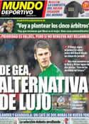 Portada Mundo Deportivo del 12 de Enero de 2013