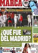 Portada diario Marca del 13 de Enero de 2013
