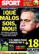 Portada diario Sport del 13 de Enero de 2013