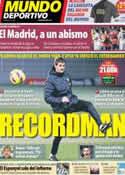 Portada Mundo Deportivo del 13 de Enero de 2013