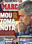 Portada diario Marca del 14 de Enero de 2013