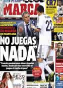 Portada diario Marca del 15 de Enero de 2013