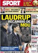 Portada diario Sport del 15 de Enero de 2013