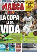 Portada diario Marca del 16 de Enero de 2013