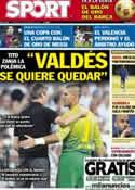 Portada diario Sport del 16 de Enero de 2013