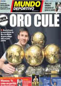 Portada Mundo Deportivo del 16 de Enero de 2013