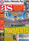 Portada diario AS del 17 de Enero de 2013