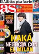 Portada diario AS del 18 de Enero de 2013