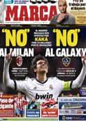 Portada diario Marca del 18 de Enero de 2013