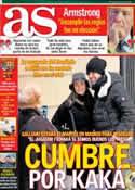 Portada diario AS del 19 de Enero de 2013