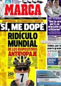 Portada diario Marca del 19 de Enero de 2013