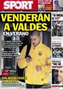 Portada diario Sport del 19 de Enero de 2013
