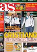 Portada diario AS del 20 de Enero de 2013