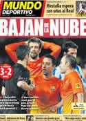 Portada Mundo Deportivo del 20 de Enero de 2013