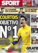 Portada diario Sport del 21 de Enero de 2013