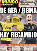 Portada Mundo Deportivo del 21 de Enero de 2013