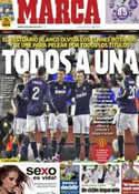 Portada diario Marca del 22 de Enero de 2013