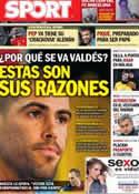 Portada diario Sport del 22 de Enero de 2013