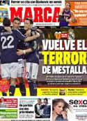 Portada diario Marca del 23 de Enero de 2013