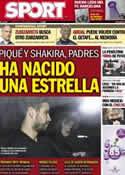 Portada diario Sport del 23 de Enero de 2013