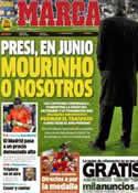 Portada diario Marca del 24 de Enero de 2013