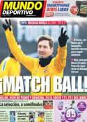 Portada Mundo Deportivo del 24 de Enero de 2013