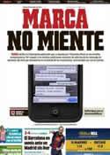 Portada diario Marca del 25 de Enero de 2013