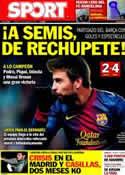 Portada diario Sport del 25 de Enero de 2013