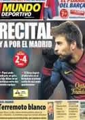 Portada Mundo Deportivo del 25 de Enero de 2013